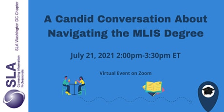 A Candid Conversation About Navigating the MLIS Degree tickets
