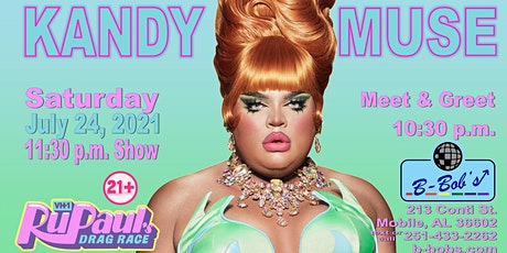 Kandy Muse to perform at B-Bob's! tickets