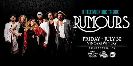 Rumours - A Fleetwood Mac Tribute tickets