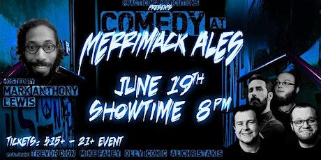 Comedy at Merrimack Ales! tickets