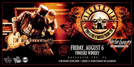 Nightrain - A Tribute to Guns N' Roses tickets