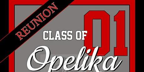 Class of 2001 Opelika High School 20 Year Reunion tickets