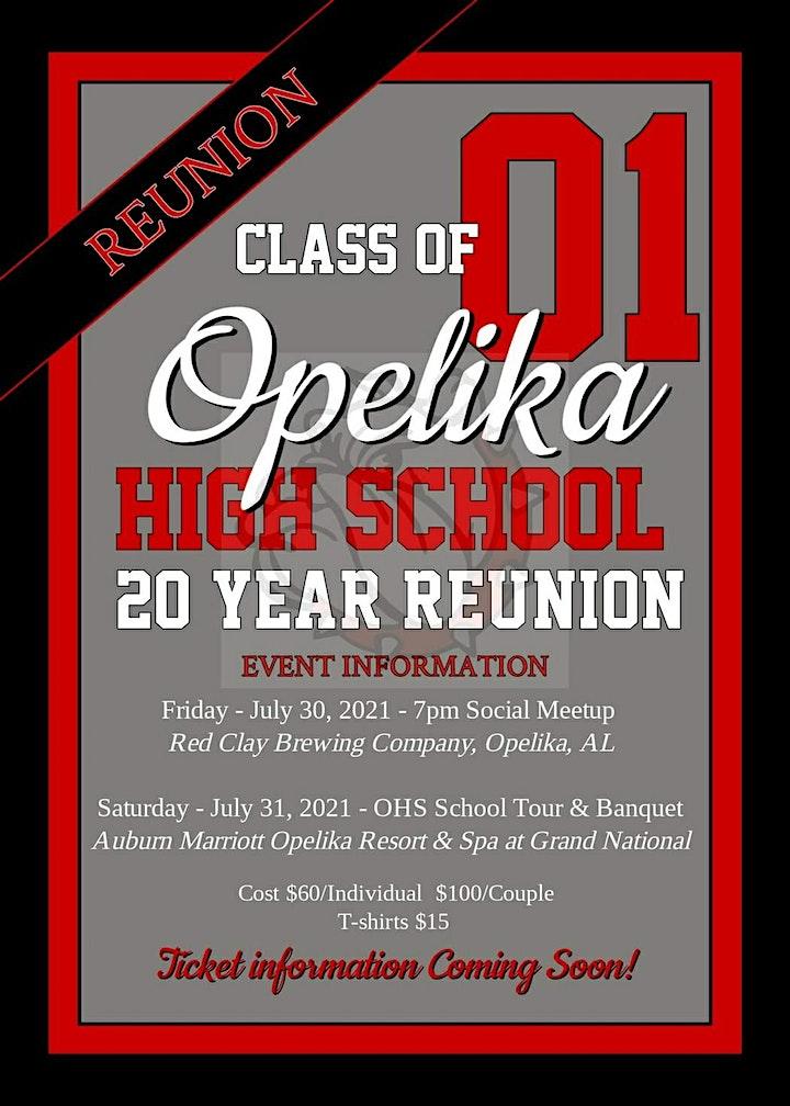 Class of 2001 Opelika High School 20 Year Reunion image