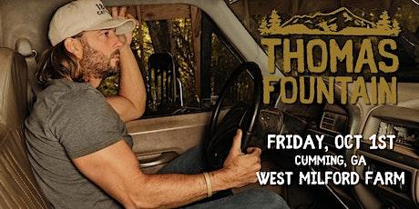Fridays at The Farm Featuring Thomas Fountain tickets