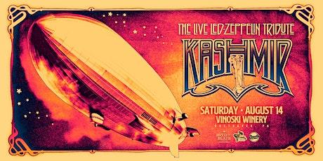 Kashmir - Led Zeppelin Tribute tickets