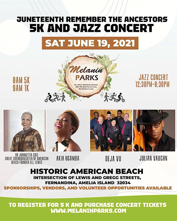 Melanin Parks Juneteeth  Jazz Concert image