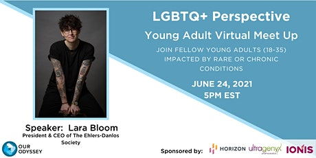 LGBTQ+ Perspective Young Adult Virtual Meet Up tickets