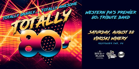 Totally 80s - The Tribute Band to the 1980s tickets
