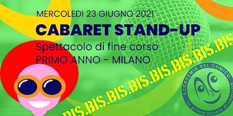 Cabaret Stand-up #MiCab1 >BIS< biglietti