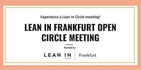 Lean In Network Frankfurt, Open Circle Meeting tickets