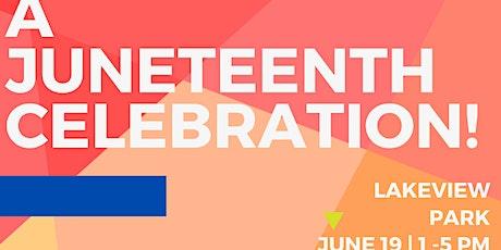 Bragtown Community Association Presents: A Juneteenth Celebration! tickets