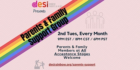 Desi Rainbow Parents & Family Support Group tickets