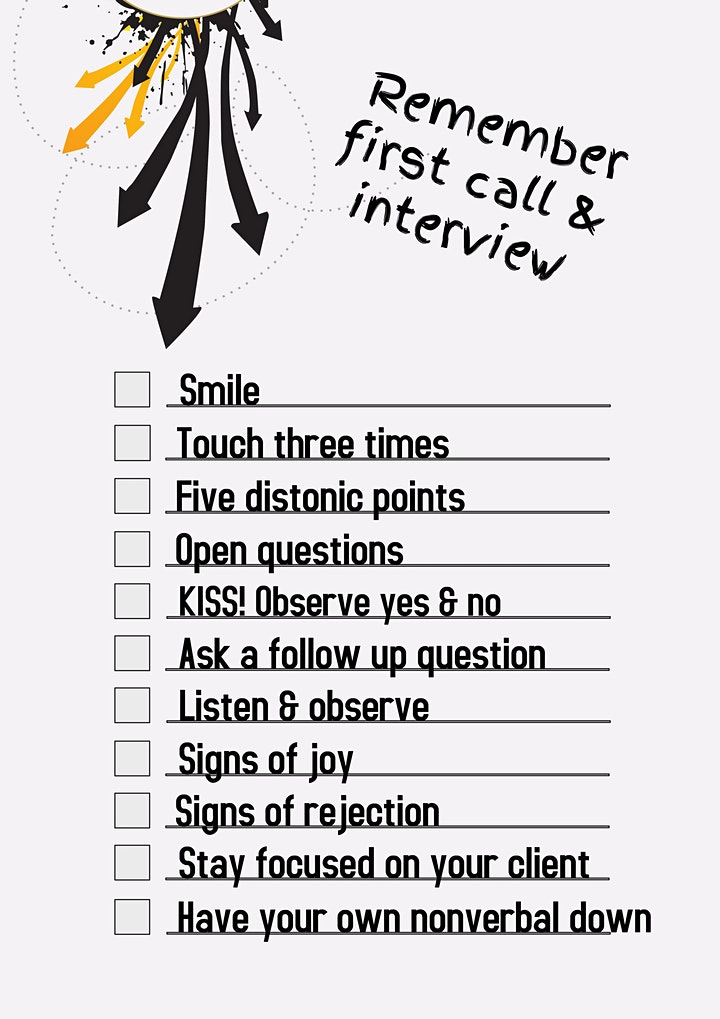 FREE WEEKLY BODY LANGUAGE & VOICE MASTERY LIVE CLASS & Q&A SESSION image