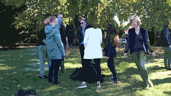 Impro im Park: Bild