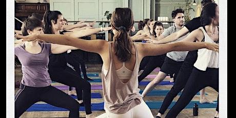 Charity yoga brunch tickets