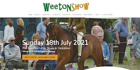 Weeton Show 2021 tickets