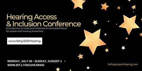 Second Annual Hearing Access & Inclusion Conference tickets