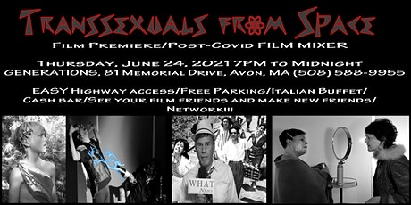 """""""Transsexuals from Space"""" Premiere/Post-Covid FILM MIXER tickets"""