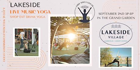 Lakeside Live Music Yoga tickets