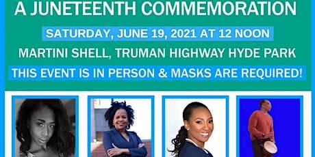 Juneteenth Joy - Focus on Freedom: A Juneteenth Commemoration tickets