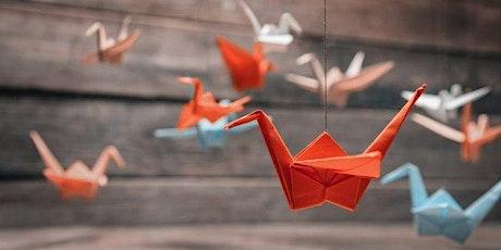 Venez découvrir l'origami avec Gladys (participation 3€ pour achat papier) billets