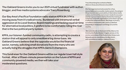 What the KPFA LSB elections signal about the direction of the  Station tickets