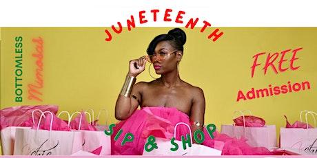 Kchic's Juneteenth Sip & Shop tickets