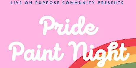 Pride Paint Night tickets