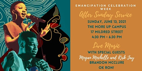 Emancipation Celebration Week  After Sunday Service tickets