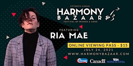 Harmony Bazaar Festival of Women & Song - LIVESTREAM tickets