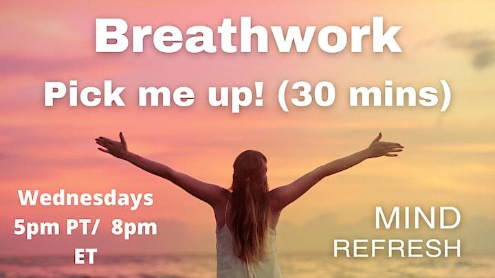 Wednesday Breathwork Pick-me-up image