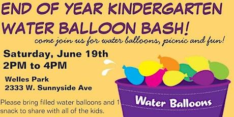End of Year Kindergarten Water Balloon Bash tickets