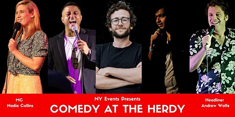 NY Events presents Comedy at The Herdy tickets