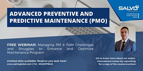 Recorded Webinar: Advanced Preventive and Predictive Maintenance (PMO) tickets