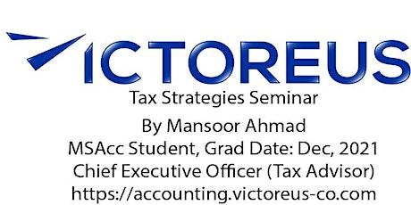 Tax Strategies Seminar tickets