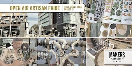 Open Air Artisan Faire | Makers Market - First Street Napa tickets