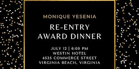 RE-ENTRY AWARD DINNER tickets