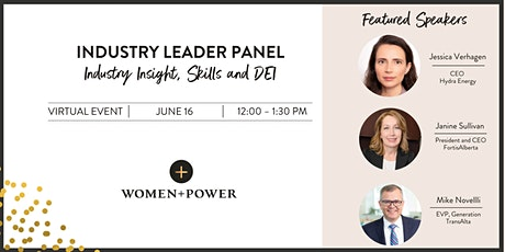 Industry Leader Panel: Industry Insights, Skills and DEI tickets