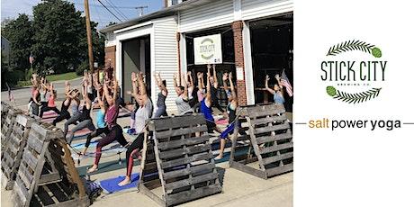 Summer Yoga at Stick City tickets