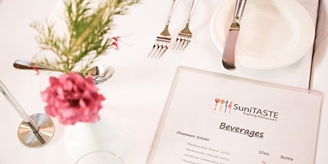 SuniTASTE Restaurant Service 29th  July 2021 tickets