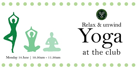 relax and Unwind: Yoga at the Club tickets