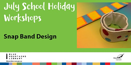 Snap Band Design with Naomi Oliver tickets