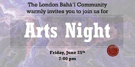Arts Night tickets