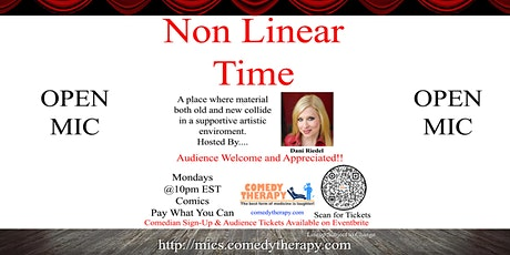 Non Linear Time Open Mic - June 28th tickets