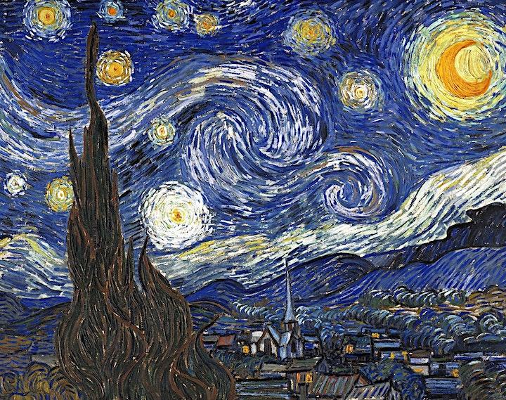 Artful Circle: Your Artful Coach - Vincent Van Gogh - June 28 at 11am image