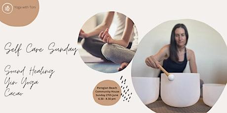 Self Care Sunday  - Yin, Sound healing & Cacao tickets