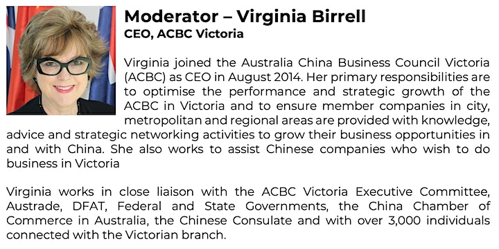 ACBC Vic & GVw: Women in Export - Succeeding in the China Market image