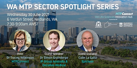WA MTP Sector Spotlight Series tickets