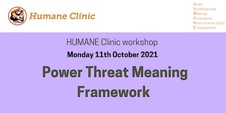 Power Threat Meaning Framework - workshop tickets
