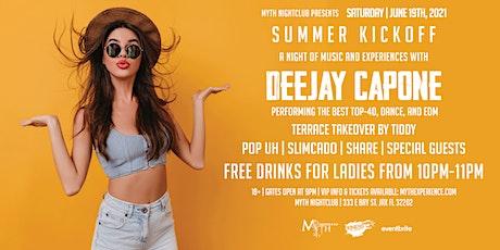 Saturday Night - SUMMER KICKOFF at Myth Nightclub | Saturday 06.19.21 tickets